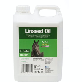 NAF Linseed Oil 2.5L Health Supplement - Clear