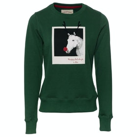 Sweat Enfant Horseware Christmas - Green