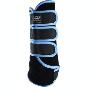 Woof Wear Training Colour Fusion Exercise Wrap - Black Powder Blue