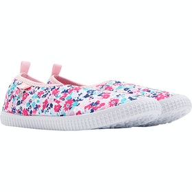 Joules Girls Pebble Childrens Slip On Trainers - Pretty Ditsy