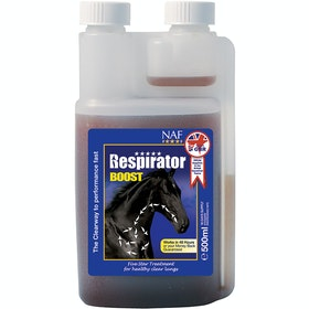 NAF 5 Star Respirator Boost 500ml Supplement - Clear