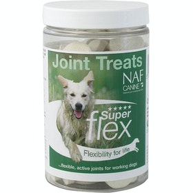 NAF Canine Superflex Joint Treats 90 Tablets Dog Supplement - Clear