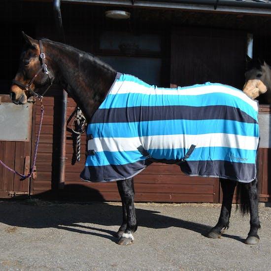 John Whitaker Holywell Striped Fleece Rug