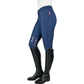 John Whitaker Dortmund Aqua-X Ladies Riding Breeches - Navy