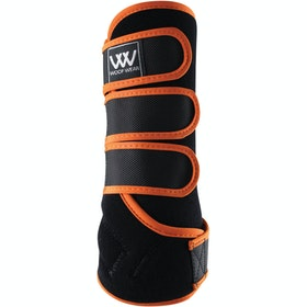 Woof Wear Training Colour Fusion Exercise Wrap - Black Orange