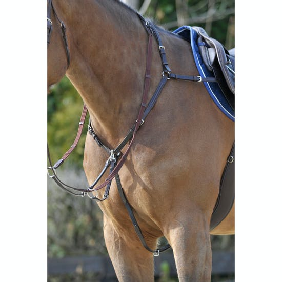 Stubben Side Fit with Running Attachment Breast Plate