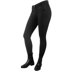 John Whitaker Miami Competition Ladies Riding Breeches - Black