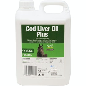 NAF Cod Liver Oil Plus 2.5L Health Supplement - Clear