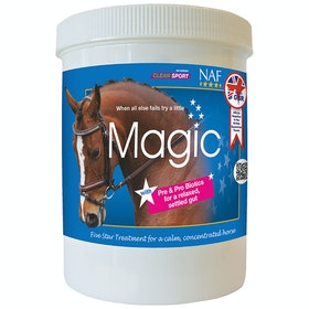 NAF 5 Star Magic Powder 750g Calming Supplement - Clear