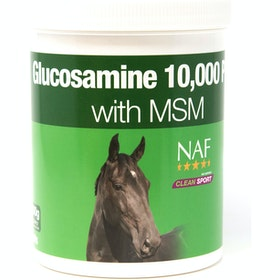 NAF Glucosamine 10,000 Plus with MSM 900g Joint Supplement - Clear