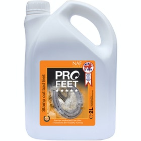 NAF 5 Star Pro Feet Liquid 2L Hoof Supplement - Clear