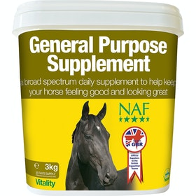 NAF General Purpose 3kg Health Supplement - Clear
