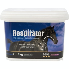 NAF Five Star Respirator 1kg Supplement - Clear