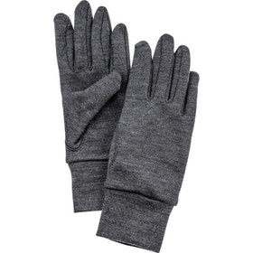 Hestra Heavy Merino Liner Ski Gloves - Grey