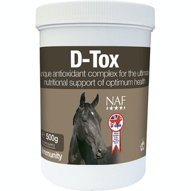 NAF D-Tox 500g Performance Supplement - Clear