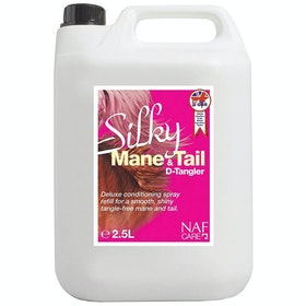 NAF Silky Mane and Tail D-Tangler 2.5L Mane Care - Clear