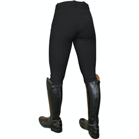 Mark Todd Coolmax Grip Ladies Riding Breeches - Black