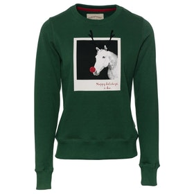 Sweat Horseware Adults Christmas - Green