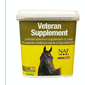 NAF Veteran 3kg Health Supplement - Clear