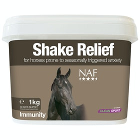 NAF Shake Relief 1kg Support Supplement - Clear