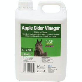 NAF Apple Cider Vinegar 2.5L Health Supplement - Clear