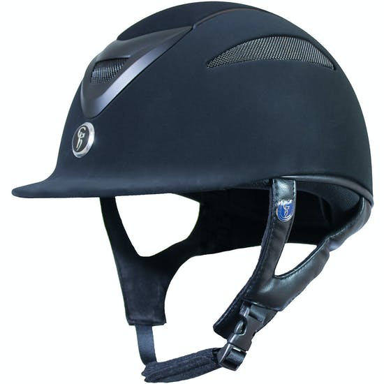 Casco equitación Gatehouse Conquest MKII Suedette Finish