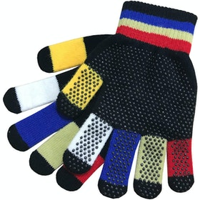 Dublin Adults Pimple Grip Gloves - Black Multi