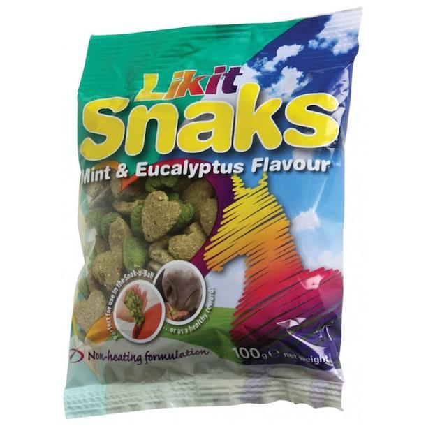 Likit Snaks Mint and Eucalyptus Pferdeleckerli