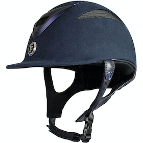 Gatehouse Conquest MKII Crystal Finish Ladies Riding Hat - Navy