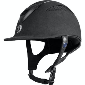 Gatehouse Conquest MKII Crystal Finish Ladies Riding Hat - Black