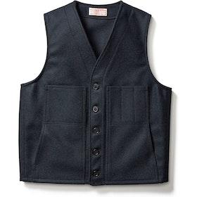 Filson Mackinaw Wool Fashion Waistcoat - Navy