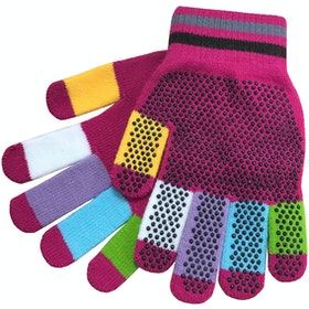 Dublin Adults Pimple Grip Gloves - Pink Multi