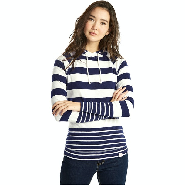 Joules Marlston Striped Semi-Fitted Ladies Sweater