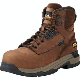 Ariat Mastergrip 6 Safety Boots - Distressed Brown