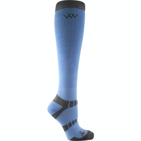Woof Wear Bamboo Long Socks - Blue Grey