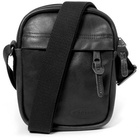 Eastpak The One メッセンジャーバッグ - Black Ink Leather