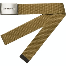 Cintura Velcro Carhartt Clip Chrome - Brown