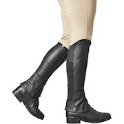 Dublin Adults Patent Piped Stretch Fit Half Chaps