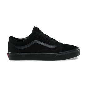 Vans Old Skool Suede Trainers - Black Black Black