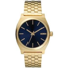 Nixon Time Teller Watch - All Light Gold Cobalt
