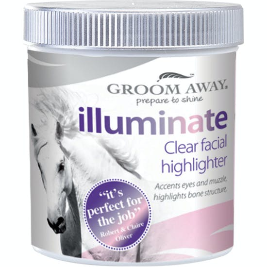 Groom Away Illuminate Clear Highlight 260g Show Preparation