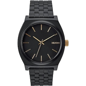Nixon Time Teller Watch - Matte Black Gold
