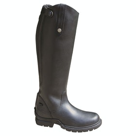 Mark Todd Fleece Lined Winter Kids Long Riding Boots - Black