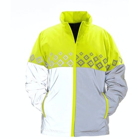 Chaqueta reflectante Equisafety Luminosa Reversible - Yellow