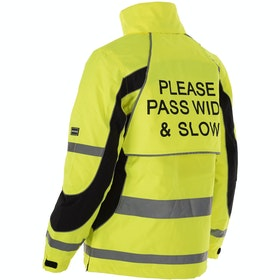 Chaqueta reflectante Equisafety Inverno - Yellow
