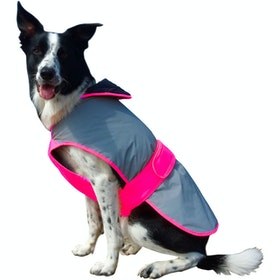 Equisafety Mercury Dog Jacket - Pink