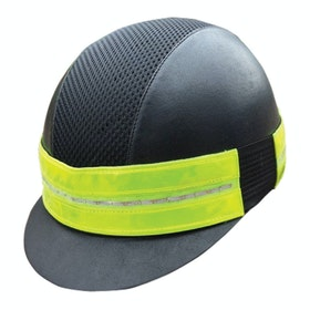 Equisafety LED Flashing Hat Reflecterend Bandje - Yellow