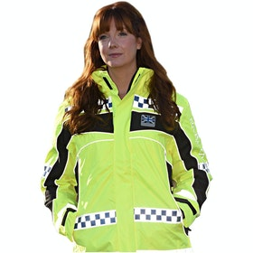 Equisafety Polite Winter Inverno Reflective Jacket - Yellow