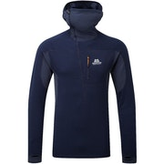 Mountain Equipment Eclipse Hooded Zip Mens Baselayer