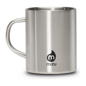 Mizu Camp Cup - Stainless w Black